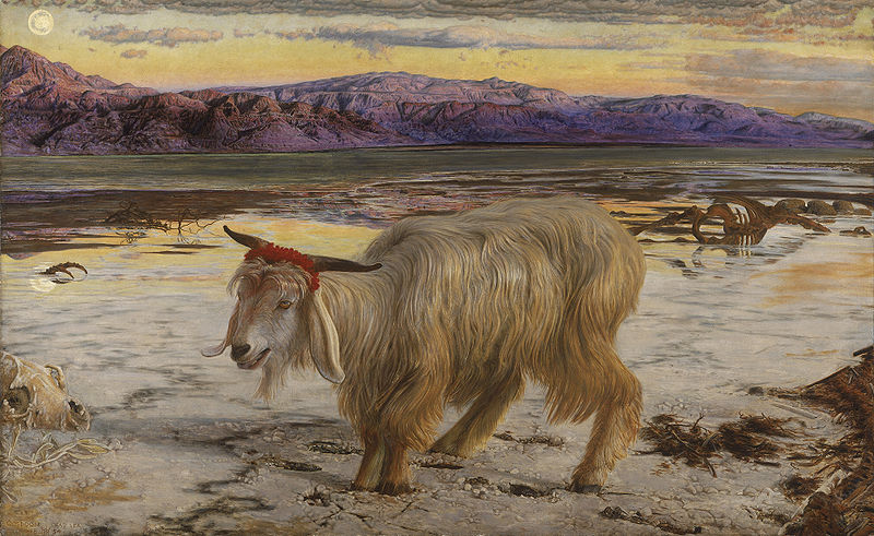 The Scapegoat, William Holman Hunt, 1854
